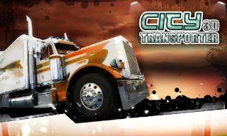 Screenshots of the City 3D Transporter for Android tablet, phone.