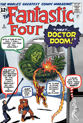 Fantastic Four #5, Dr Doom's first appearance
