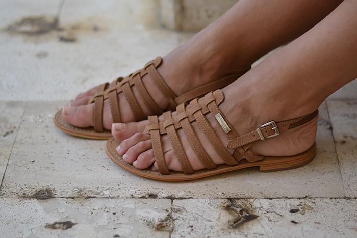sandali schiava cuoio