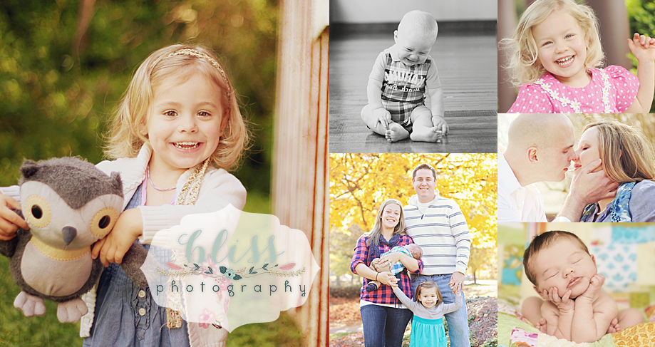 Bliss Photography - NC Portrait Photographer for Newborn, Baby, Child, Family, and Seniors