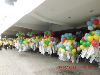 Balon Peresmian / Balon Pelepasan
