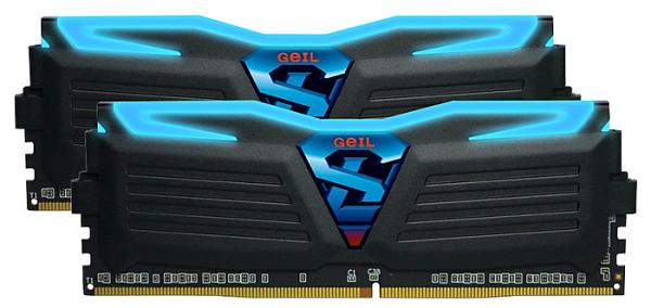 Geil Super Luce DDR4 Memory 3000MHz (2 x 4GB)