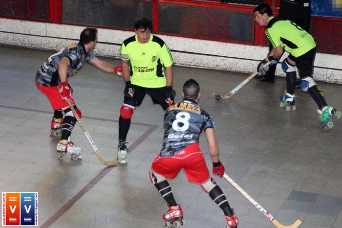 hockey sobre patines debut: