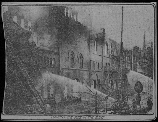 Bam blog this week in bam history burning down the house for Facts about house fires