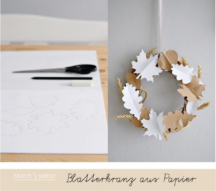 Decorating Ideas > [Nachmachtipp] Herbstlicher Blätterkranz  Sinnenrausch  ~ 233449_Thanksgiving Decorations Nz