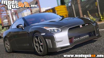 V - Nissan GTR Nismo 2015 para GTA V PC
