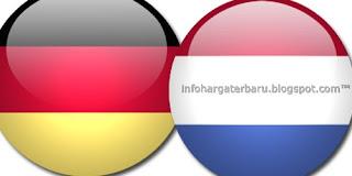 Prediksi Belanda vs Jerman | Streaming RCTI Kamis 14 Juni 2012