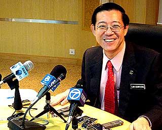 Lim Guan Eng bersikap kurang ajar terhadap Melayu  Pulau Pinang