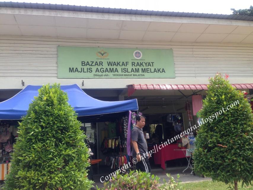 bazar wakaf rakyat MAIM di pulau besar
