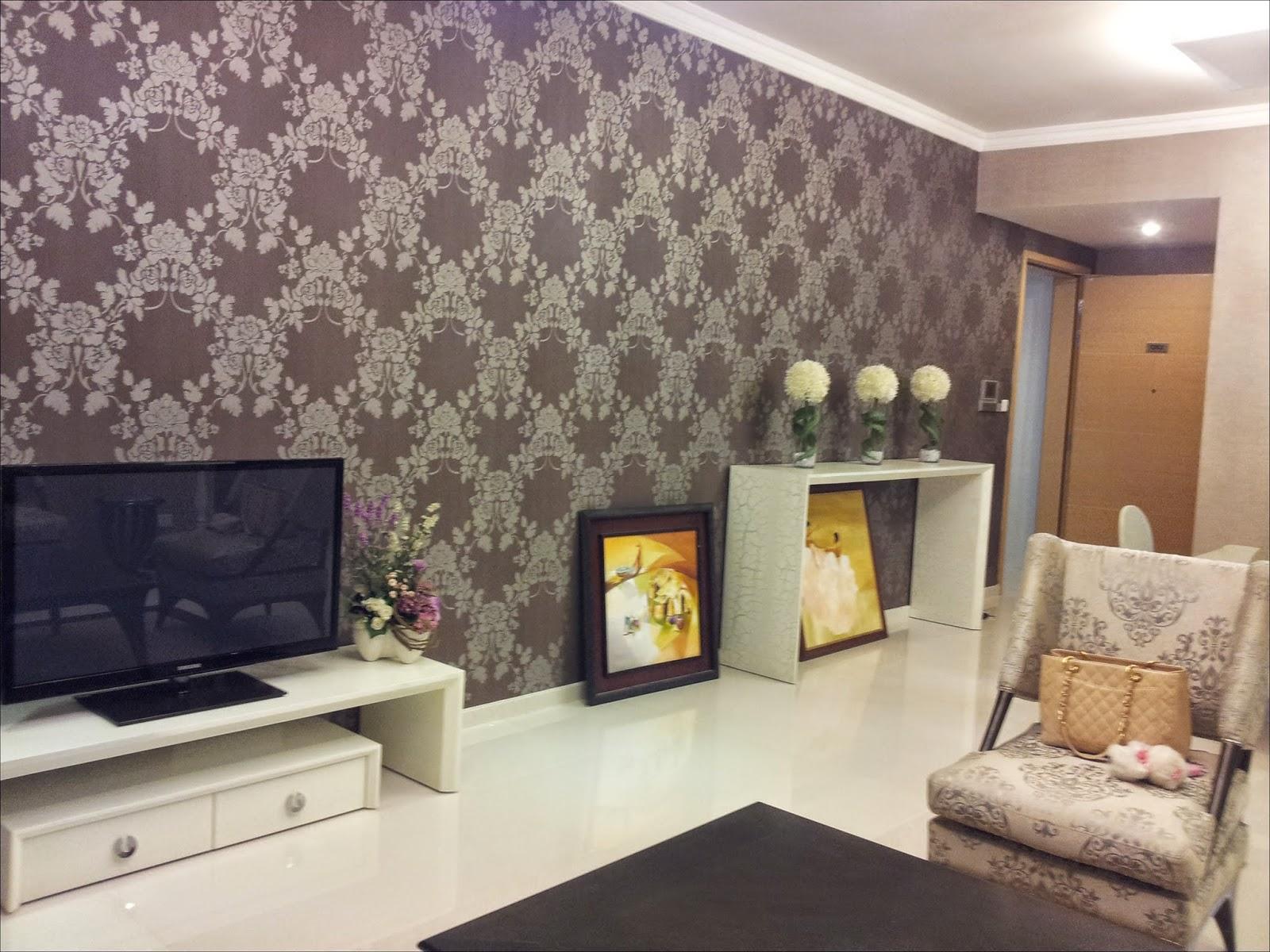 Phòng khách căn hộ The Vista