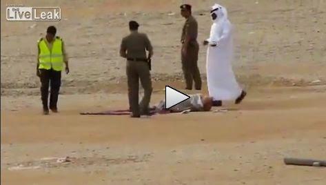 VIDEO Hukuman Pancung Di Arab Saudi