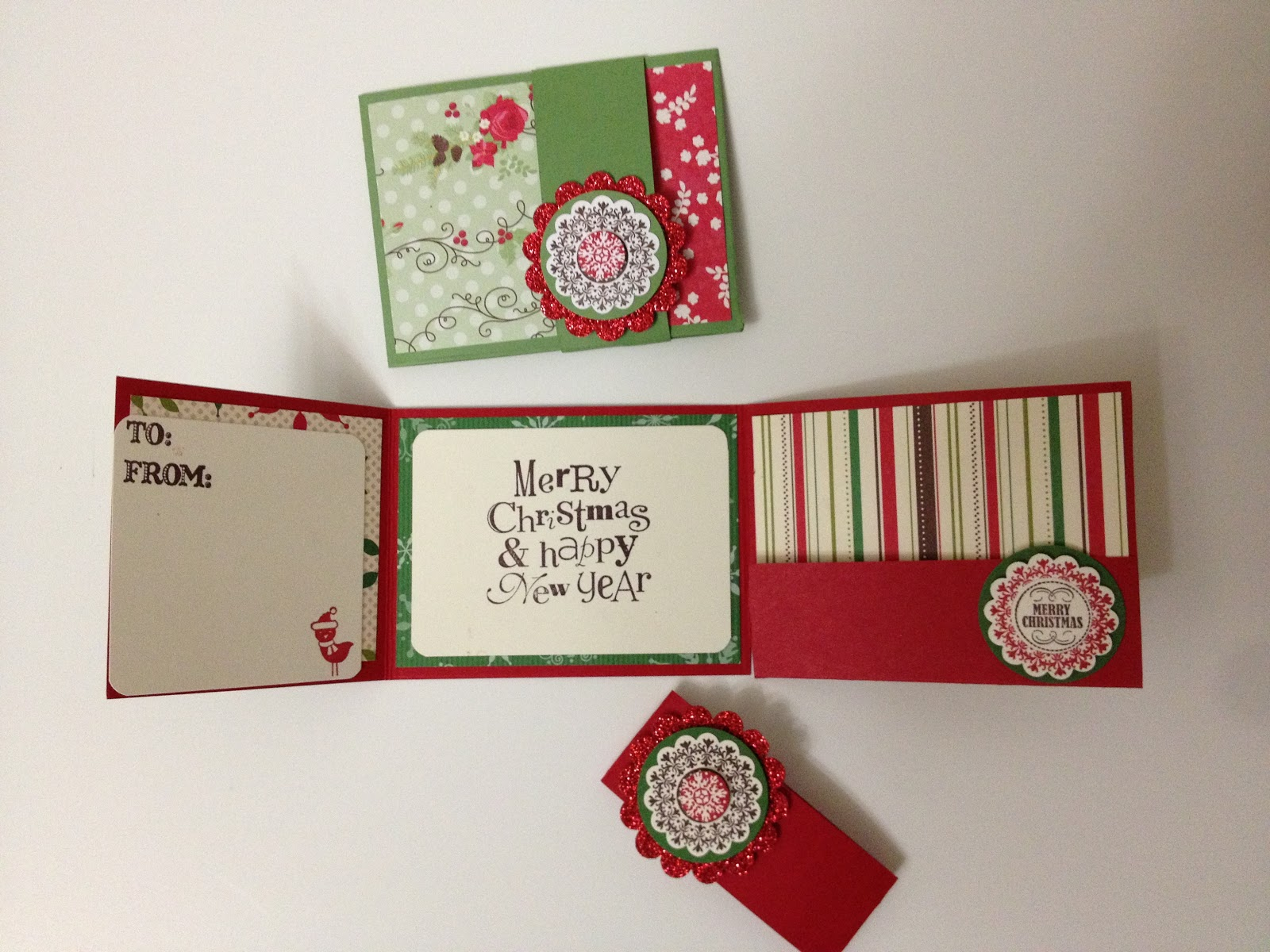 Linda\'s Paper Garden: Giftcard/Money Holders for Christmas! .... and ...