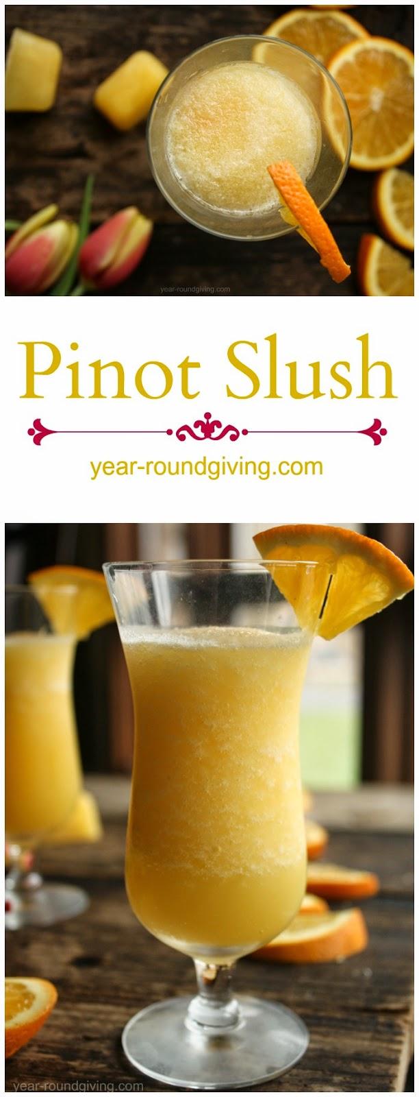 Pinot Slush Cocktail