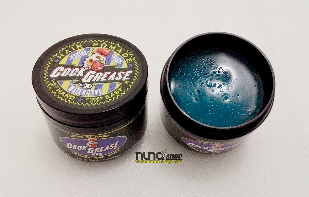 Cock Grease XXX Strong Hold Pomade - Water Based Pomade