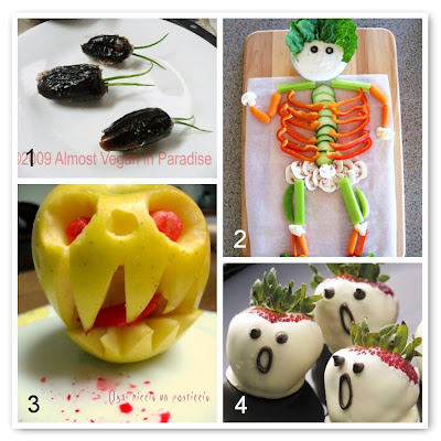 Frutta e verdura per Halloween