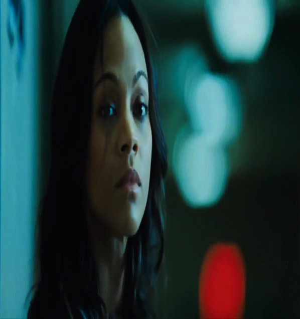 Hollywood Movie World: ZOE SALDANA MOVIE COLOMBIANA ... Zoe Saldana Colombiana Poster