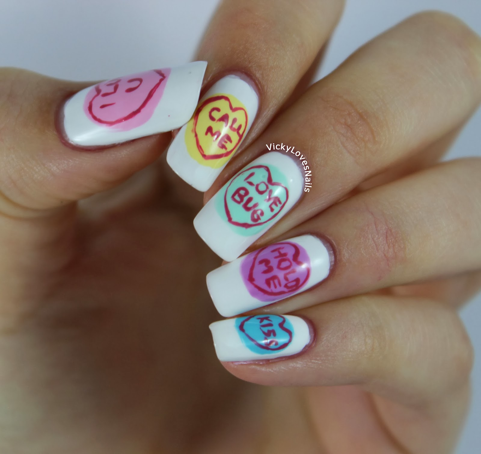 Vicky Loves Nails!: Week Of Love Valentines Nail Art Challenge ...
