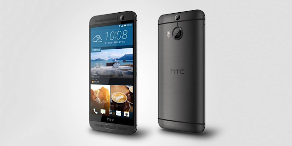 HTC One M9 Plus in gray