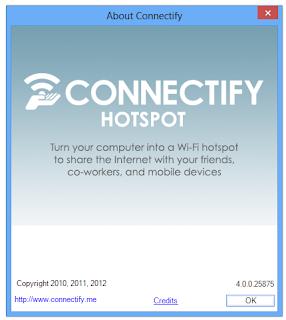Connectify Dispatch Hotspot 4.0.0.25875 aplikasi sharing internet terbaru 2015