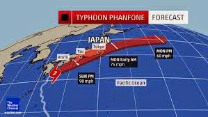 Deadly Typhoon Heads To Tokyo After Lashing Southern Japan