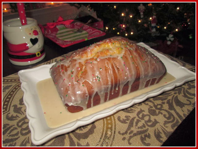 Eggnog Loaf Christmas Recipe