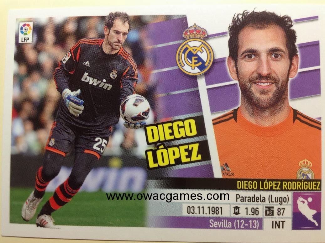 Liga ESTE 2013-14 Real Madid - 2 - Diego López