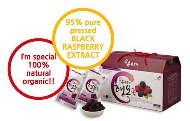 Black Raspberry (복분자) | www.meheartseoul.blogspot.com