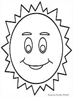 Gambar Untuk Mewarnai Gambar Matahari
