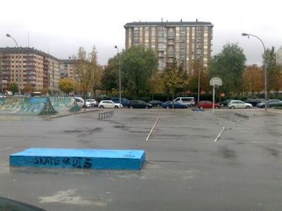 Skatepark antes de la renovación