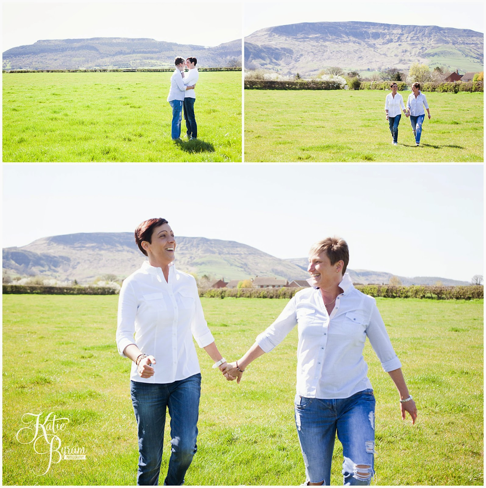 gay wedding photographer, same-sex couples, civil partnership, civil partnership photography,  same-sex engagement, lesbian wedding, lesbian engagement shoot, pre-wedding shoot, katie byram photography, mrs & mrs, two bride wedding, gay wedding, gay engagement, gisborough hall, north yorkshire wedding photographer