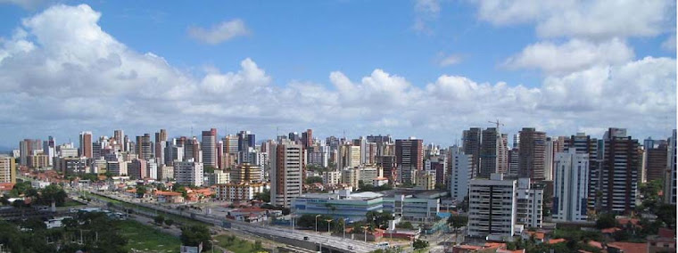 The Skyline of Fortaleza, Brazil