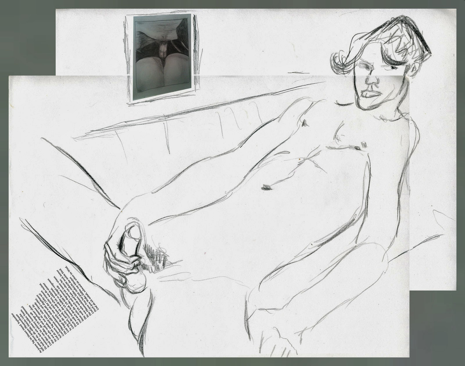 dessin erotique pornographique masturbation jerk-off