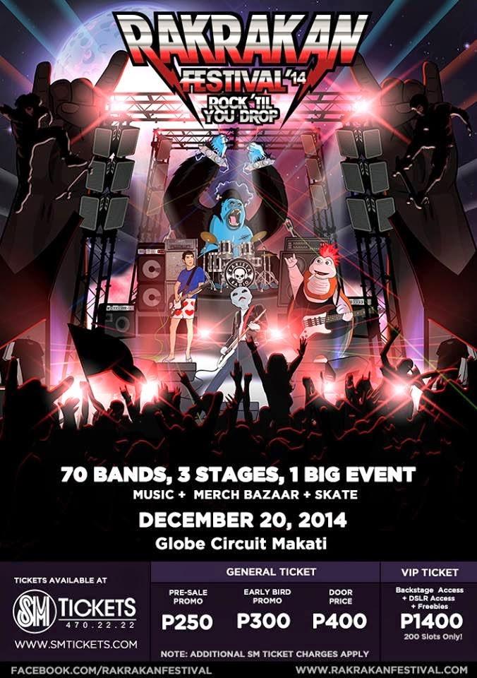 Rakrakan Festival 2014, Rock Til You Drop