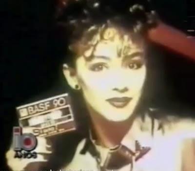 Fitas BASF nos anos 80. Propaganda feita para os amantes da música.