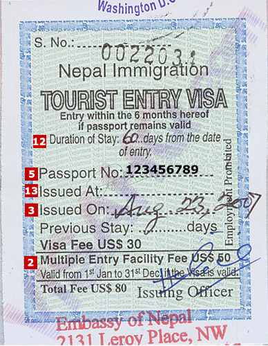 Apply Online for Nepal Visa From Bangladesh | Work and Visa Info