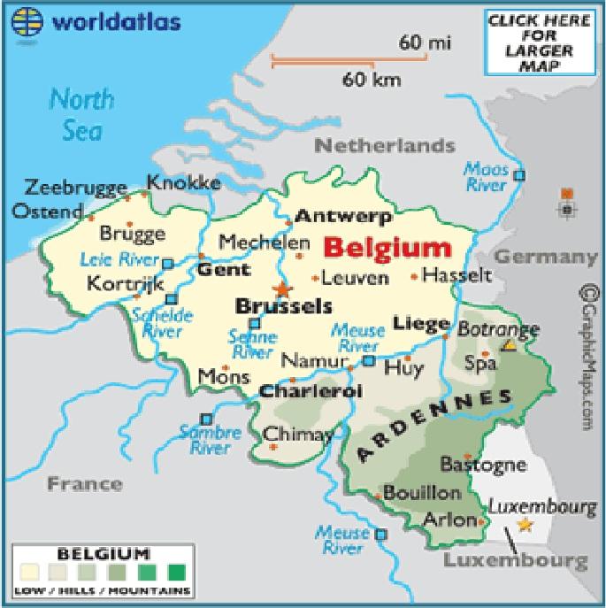 Belgium Topographic Map.Wargame Terrain Building In Australia Project Waterloo Campaign