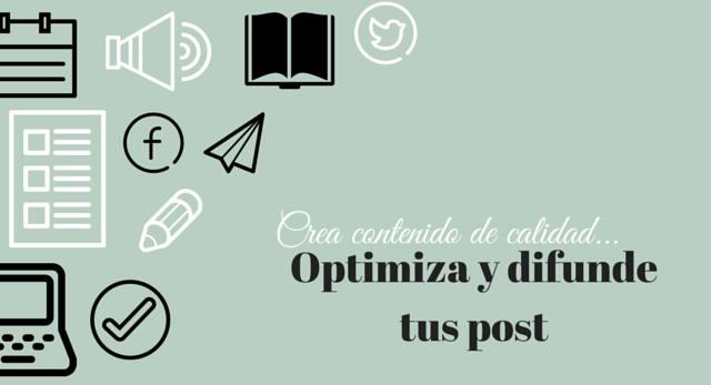 cumple tus objetivos, contenido de calidad y optimización de blogs