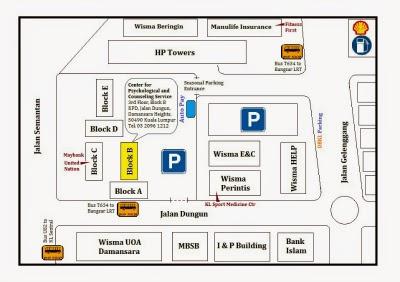 Location Map: Damansara