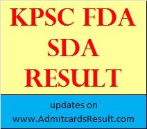 KPSC Result 2015