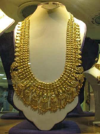 Buy Gold And Jelwrey 24K Beautiful Expensive Gold Necklace
