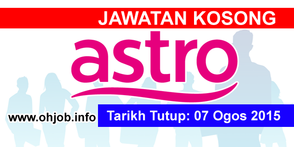 Jawatan Kerja Kosong Measat Broadcast Network Systems (ASTRO) logo www.ohjob.info ogos 2015
