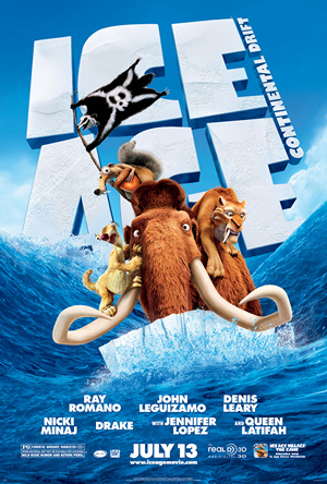 resensi film, film review, Ice Age 4: Continental Drift (2012), pic