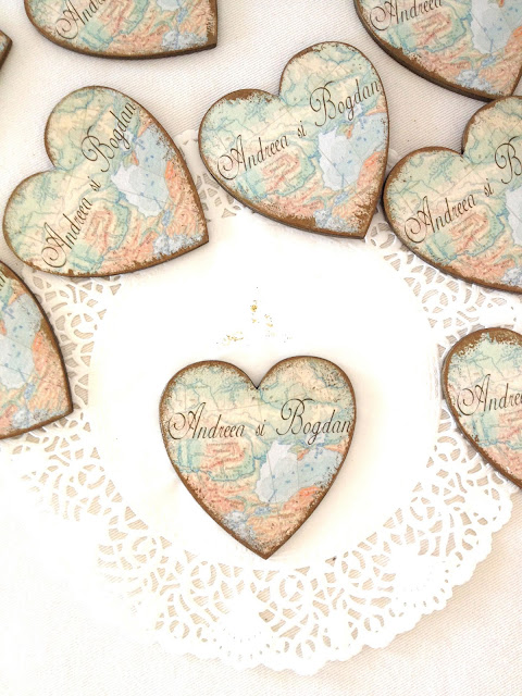 marturii inimioare handmade