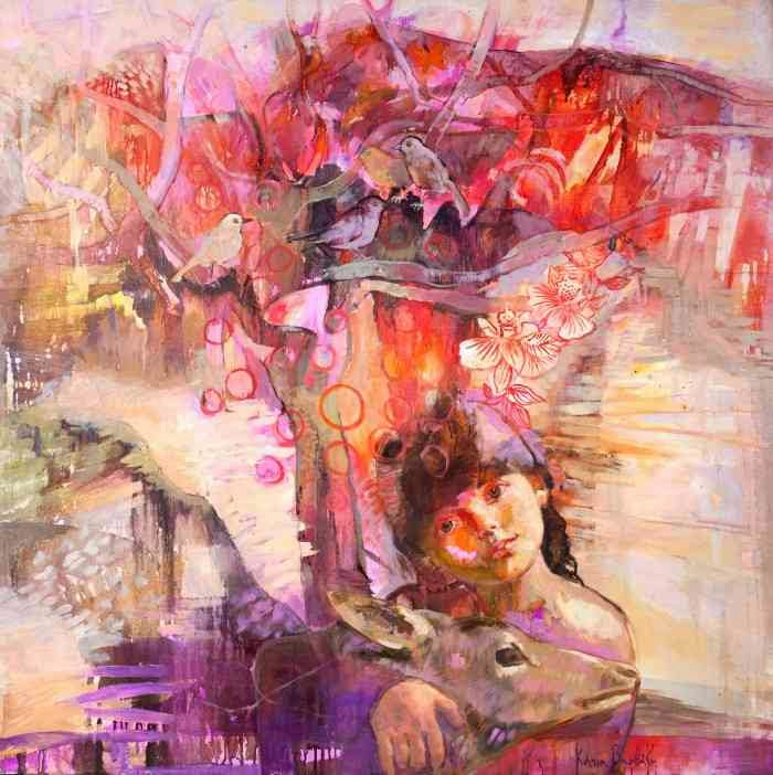 Современная греческая художница. Katia Varvaki