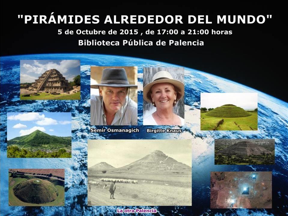 """Conferencia """"Pirámides alrededor del Mundo"""" por el Dr. Semir Osmanagich"""