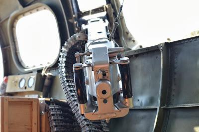 B-17 WWII interior