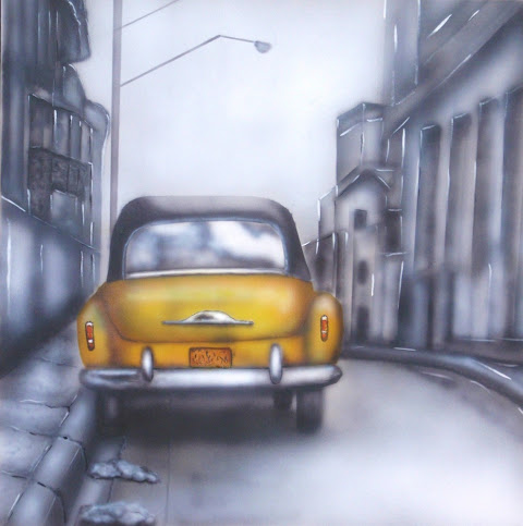 Dans une rue de Cuba