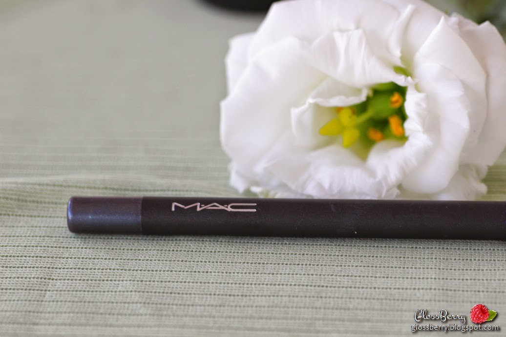 mac m.a.c industrial pearlglide intense eye liner eyeliner review swatch