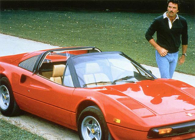 Magnum PI Ferrari