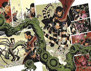 Bachalo's colors bring life to the page